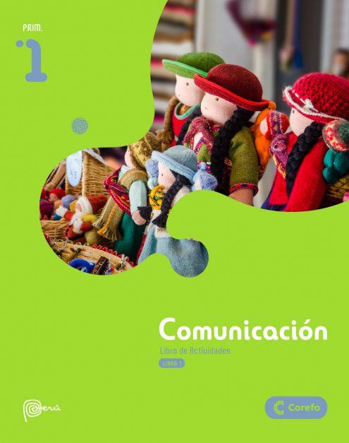 LIBRO DE COMUNICACION PRIM 1/A (PACK DE 4) - 2020