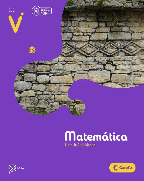 LIBRO DE MATEMATICA SEC V/A (PACK DE 3) - 2020
