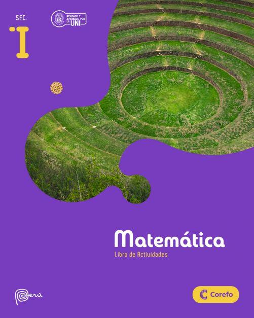 LIBRO DE MATEMATICA SEC I/A (PACK DE 3) - EDICIÓN 2020