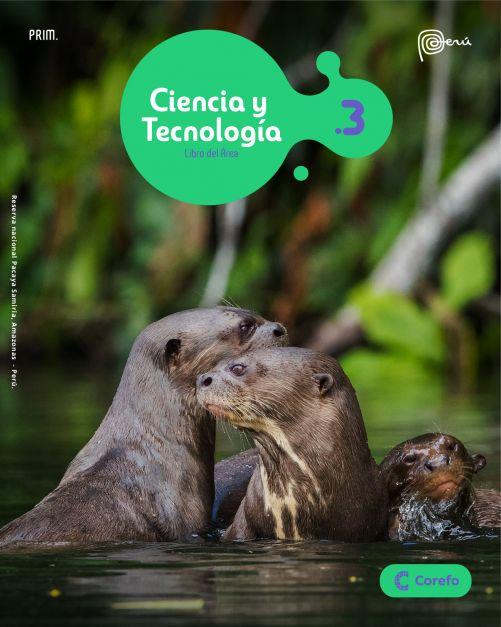 LIBRO DE CIENCIA Y TECNOLOGIA PRIM 3/A (PACK DE 2) - 2020