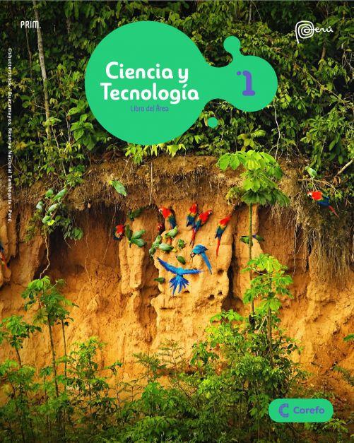 LIBRO DE CIENCIA Y TECNOLOGIA PRIM 1/A (PACK DE 2) - 2020