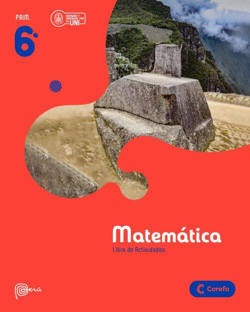 LIBRO DE MATEMATICA PRIM 6/A (PACK DE 3) - 2020