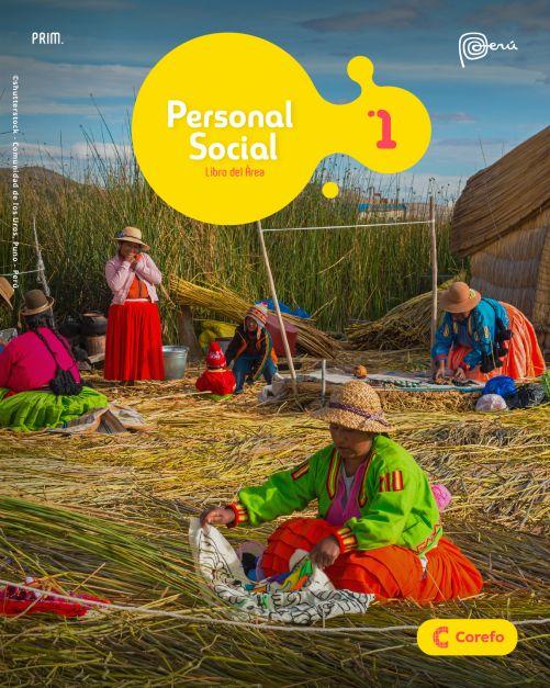LIBRO DE PERSONAL SOCIAL PRIM 1/A (PACK DE 2) - 2020