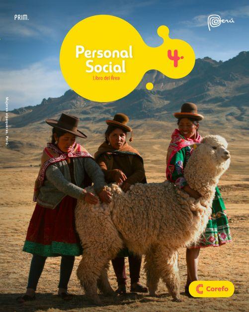 LIBRO DE PERSONAL SOCIAL PRIM 4/A (PACK DE 2) - 2020