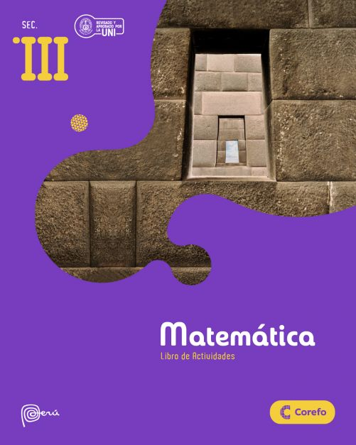 LIBRO DE MATEMATICA SEC III/A (PACK DE 3) - EDICIÓN 2020