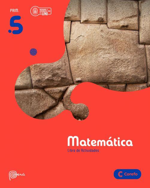LIBRO DE MATEMATICA PRIM 5/A (PACK DE 3) - 2020