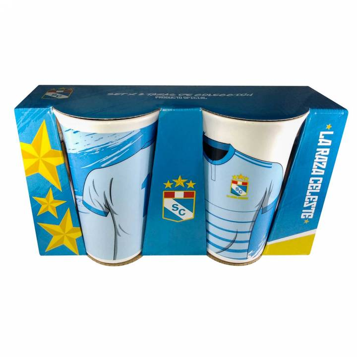 SET X 2 TAZAS LATTE 360 ML - SPORTING CRISTAL