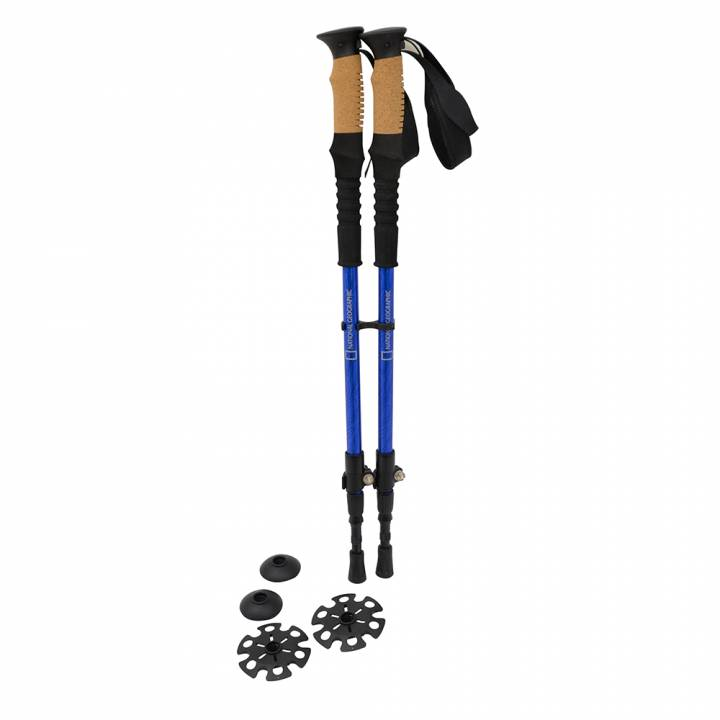 SET  BASTONES DE TREKKING EXPLORE - NATIONAL GEOGRAPHIC