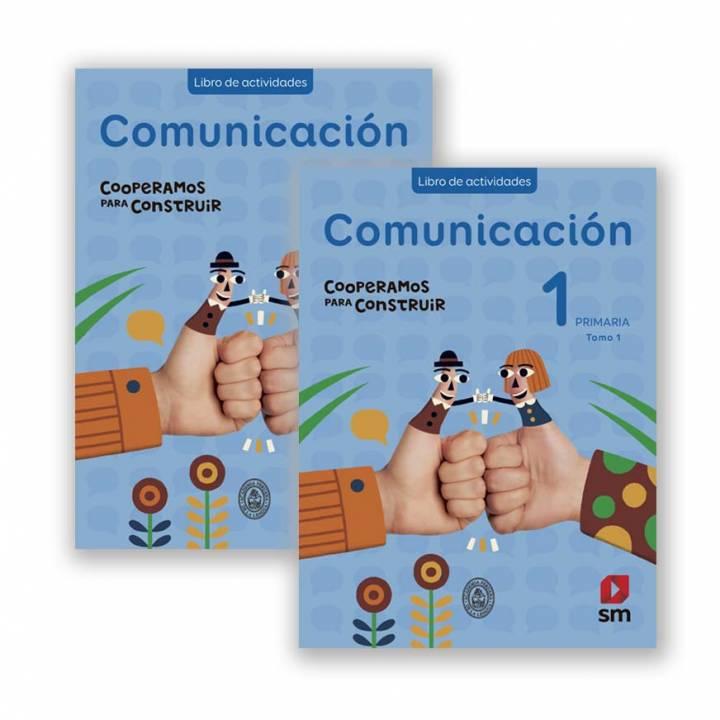 Comunicación 1 - Cooperamos Libro Actividades Vol. I y II