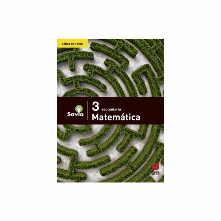 Matemática 3 - Texto Escolar - Savia