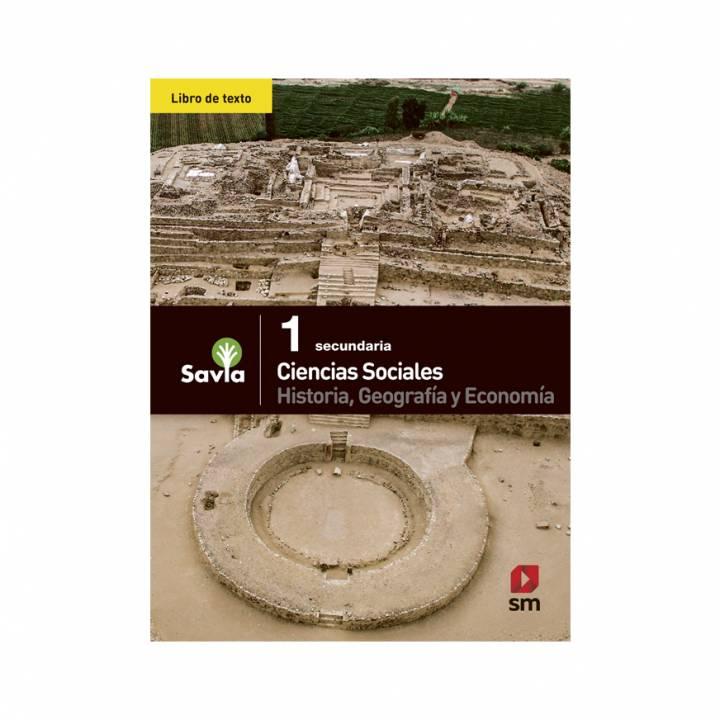 Ciencias Sociales 1 - Texto Escolar - Savia