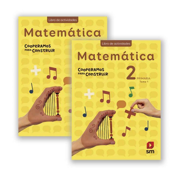 Matemática 2 - Cooperamos Libro Actividades I y II