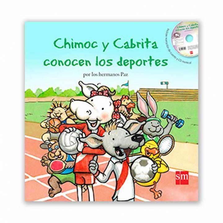Chimoc y Cabrita conocen los deportes