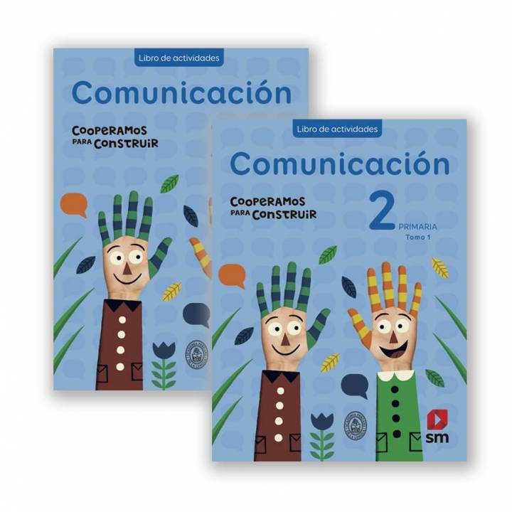 Comunicación 2 - Cooperamos Libro Actividades Vol. I y II