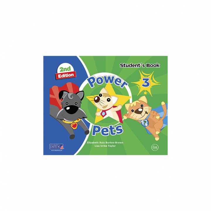 Power Pets 3° Student´s Book 2da. Edición Preschool