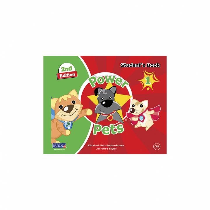Power Pets 1° Student´s Book 2da. Edición Preschool