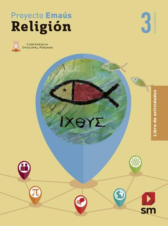 Religión Secundaria 3 Emaús - Libro de Actividades