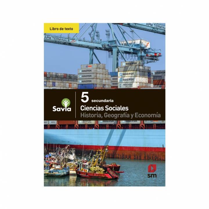 Ciencias Sociales 5 - Texto Escolar - Savia