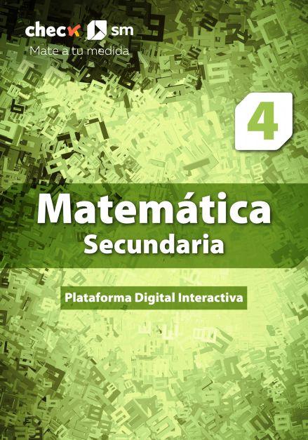 Check SM Matemática 4