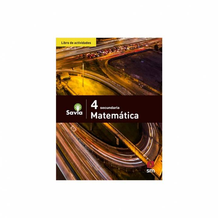 Matemática 4 - Libro de Actividades - Savia