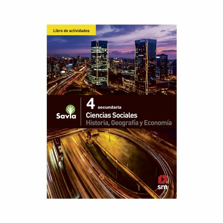 Ciencias Sociales 4 - Libro de Actividades - Savia