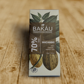 CHOCOLATE BAKAU  MACAMBO 70%