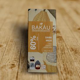 CHOCOLATE BAKAU  DARK MILK 60%
