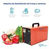 Generador de ozono portátil 10,000 mg/h Multipropósito Agua y Aire