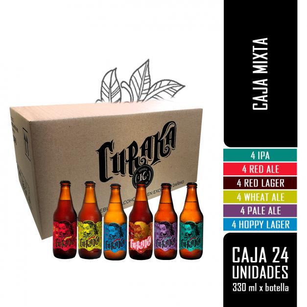 CURAKA - Mix 24Pack - 24 bot x 330 ml c/u
