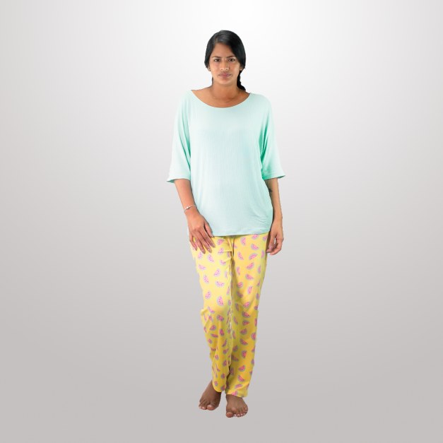 Pijama Mujer Sweet Yellow