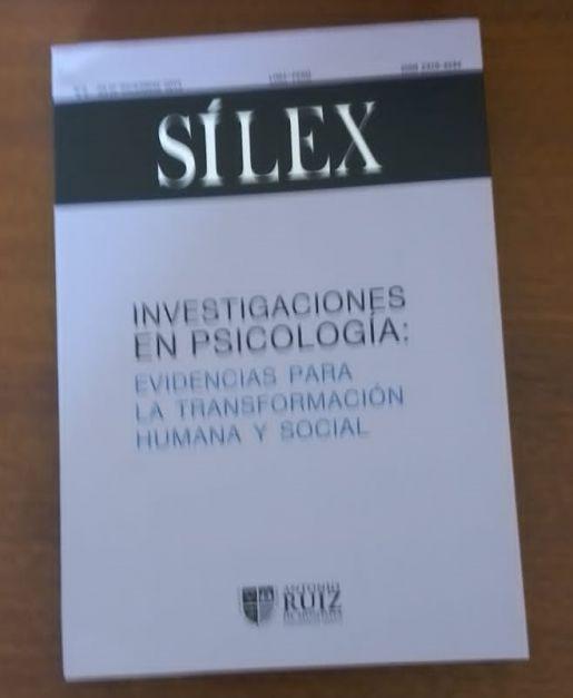 Sílex Investigación en Psicología -Evidencias para la Transformación Humana y Social N° 5 julio-diciembre 2015