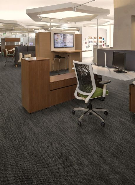 Alfombra modular framed structure color pencil lead.