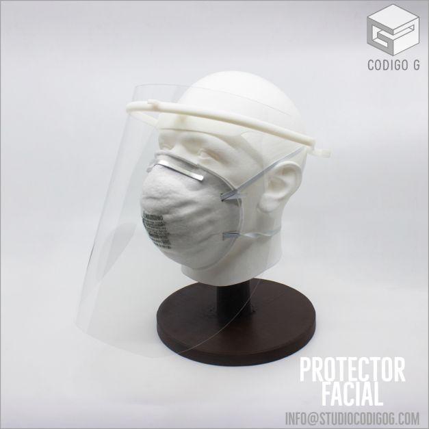 Protector Facial Reutilizable
