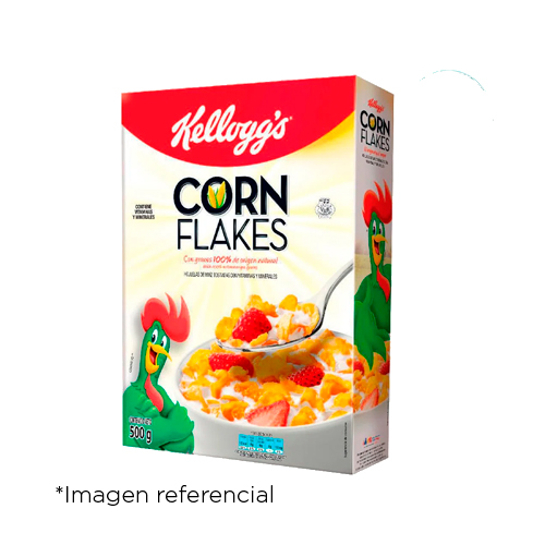 Kellogg's Corn Flakes. Caja de 500 g
