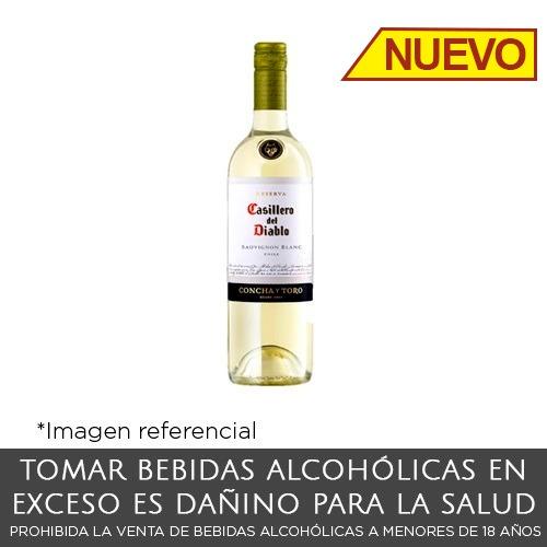 Casillero del Diablo Sauvignon Blanc. Botella de 375 ml