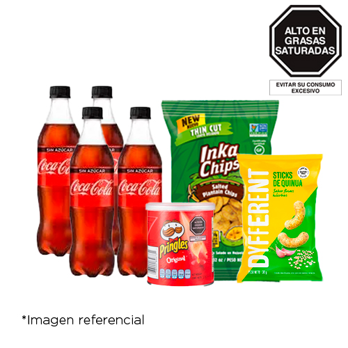 Pack Coca Cola S/A+Dyff+InkaChips+Pring