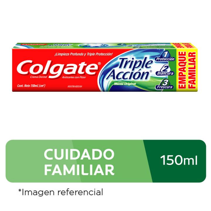 Pasta Dental Colgate Triple Acción 150 ml