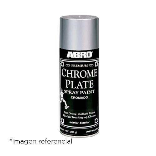 Abro Pintura en Spray Premium Cromo. 400 ml.