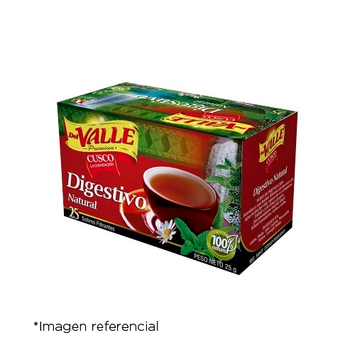 Del Valle Digestivo natural x 25 Sobres