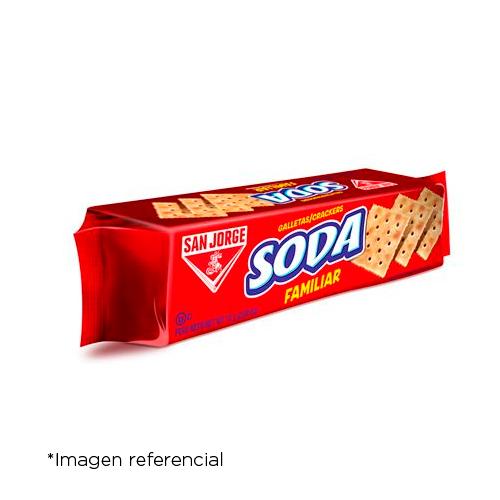 San Jorge Galleta Soda Familiar. Paquete 75 g