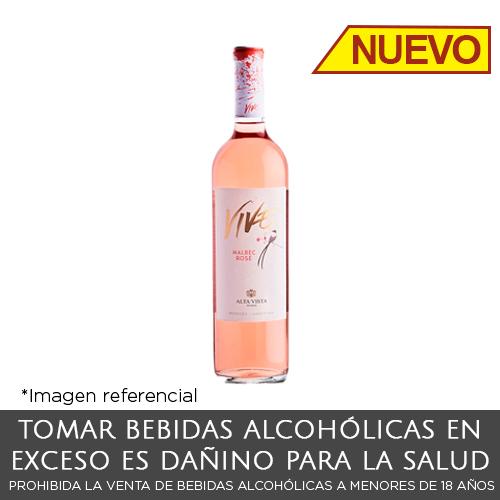 Alta Vista Vive Rose. Botella de 750ml