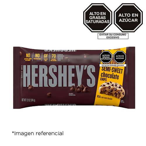 Hershey's Baking Pieces Semi Sweet Mini 12 oz