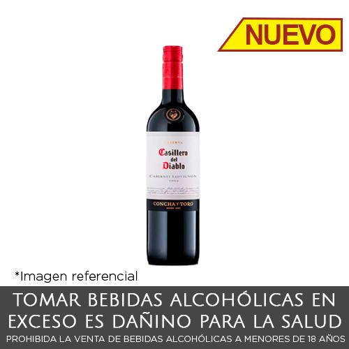 Casillero del Diablo Cabernet Sauvignon. Botella de 375 ml