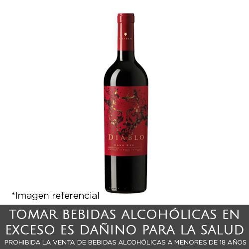 Casillero del Diablo Dark Red Blend Botella de 750 ml