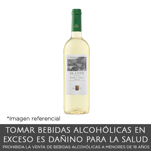 El Coto Blanco Vino Botella de 750 ml