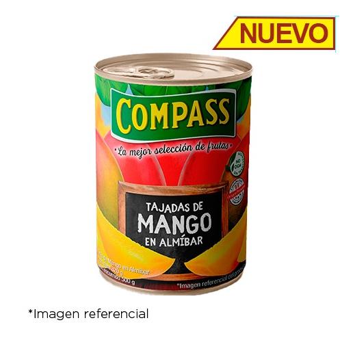 Compass Mango Tajadas. Lata de 820g.