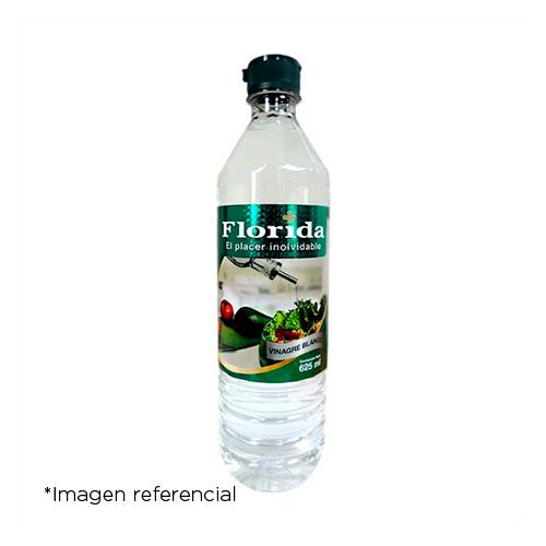 Florida Vinagre Blanco. Botella 625 ml