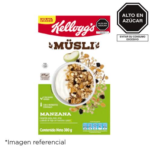 Kellogg's Müsli Manzana. Caja de 300 g