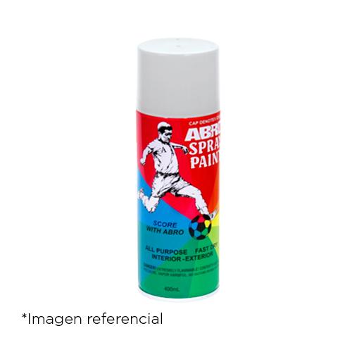 Abro Pintura en Spray Laca Transparente 400 ml.