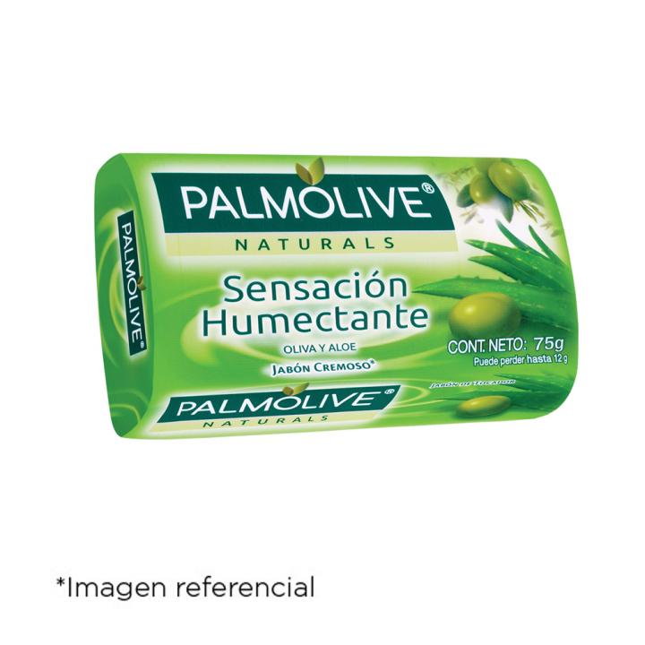 Palmolive Aloe y Oliva. Barra de 120 g